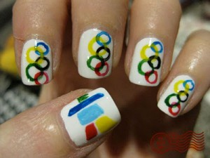 nails olympic games london 2012